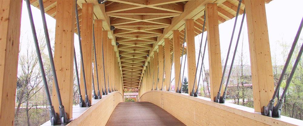 Ingenieurholzbau und holzbr ckenbau engineered timber for Fachwerkkonstruktion stahl